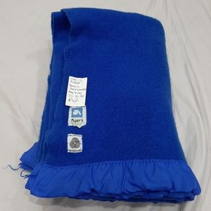 Ayers vintage wool blanket 52 by 86 inches